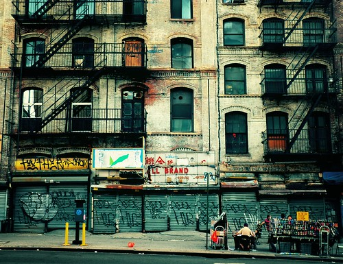 Decay, Canal Street, Chinatown, New York City