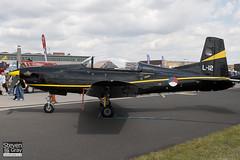 L-12 - 611  Royal Netherlands Air Forice - Pilatus PC-7 - 110702 - Waddington - Steven Gray - IMG_4837