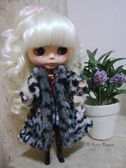 Katarina prontinha para o inverno!
