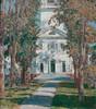 Childe Hassam, The Church at Gloucester, 1918 (Sharon Mollerus) Tags: newyork metropolitanmuseumofart