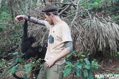 Monkeying Around (RileyTaylorPhoto.com) Tags: rescue southamerica animals bolivia monkeys volunteer wildanimals intiwarayassi villatunari spidermonkeys rescueanimals parquemachia