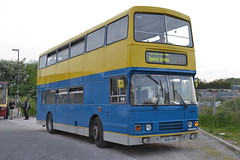 Preserved 654 G654UPP (Will Swain) Tags: uk travel england bus buses station train britain derbyshire hill transport may trains preserved 16th essex chesterfield barrow arriva 2014 shires 654 5104 g654upp