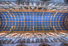 Carlisle Cathedral, Cumbria, England (Pensioner Percy, very slow at the moment) Tags: cathedral sigma ceiling cumbria carlisle hdr carlislecathedral photomatix d7100 sigma1020lens bishopofcarlisle pensionerpercy