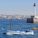 La sortie du Vieux-Port de Marseille