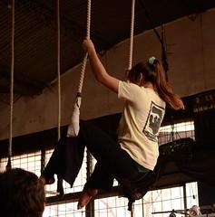 Trapecio #3 (Agustina Farias) Tags: circo teacher profesora trapecio
