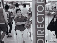 Director. (juroMalazo) Tags: life street people urban blackandwhite monochrome lumix philippines streetphotography panasonic manila urbanphotography lx5 peopleandlife juromalazo junmalazo