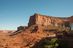 Mitchell Mesa and The View at Monument Valley, Arizona (MikePScott) Tags: camera arizona usa butte unitedstates monumentvalley topography nikond600 mitchellmesa oljatomonumentvalley