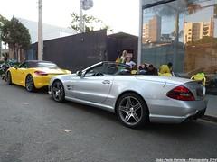 Porsche Boxster S (Gerao 981) & Mercedes-Benz SL 63 AMG (Joo Paulo Fotografias) Tags: s 63 sl porsche mercedesbenz boxster amg 981 gerao