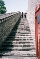 Beijing Ancient Observatory Steps (Matthew Huntbach) Tags: steps beijing observatory analogue fujisuperia400 北京古观象台 halinamw35