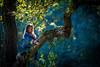 "autumn sun ("" Bernhard Witt "") Tags: sonyalpha850 tamron70200 autumn littlegirl"
