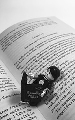 Catching up with a good read #lego (mattosborne325) Tags: dracula books book literature minifigs minifig minifigures minifigure spookyboy spooky lego