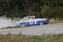 _DSC4642a (chris.jcbphotography) Tags: special stage 4 dalby forest trackrod rally yorkshire motor club ford escort rs1800 barry stevenson wheeler codriver john pickavance