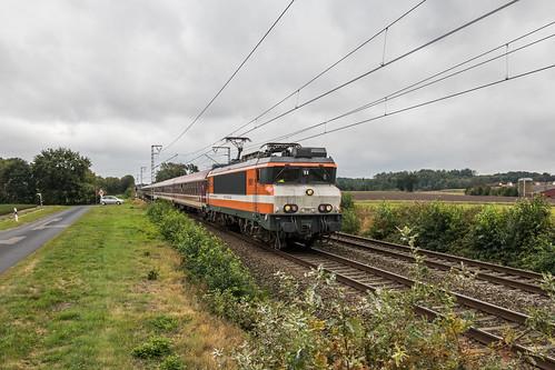 Locon 9901 met Müller-Tanzzug, Gildehaus