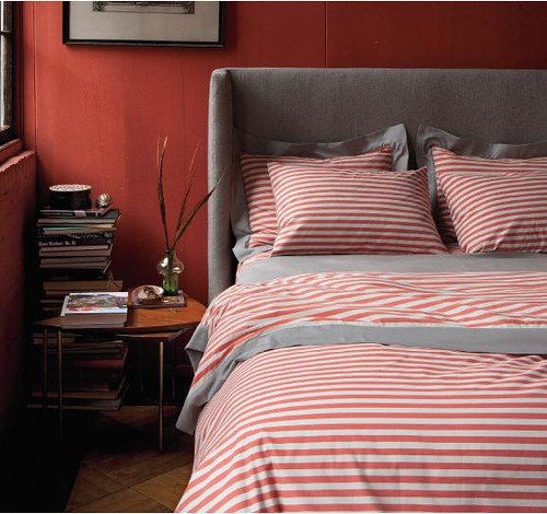 Dwell Studio 'Draper' duvet in poppy by xJavierx