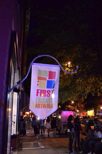 First Fridays Artwalk Banner