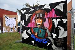 UPFEST 11 (unusualimage) Tags: streetart bristol graffiti thepilot unusualimage upfest11 theurbanpaintfestivalpasted