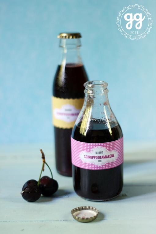 sciroppo di ciliegia (cherry syrup)