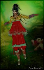 Ornate (Austina Magic) Tags: india indian saree sari silk benarasi second life secondlife 2ndlife austina magic austinamagic staymagic arya sim boutique aryaboutique salwar churidar lehanga ghagra choli shirt pant tshirt women girl pretty cartoon 2d 3d flash primisland blog fashion sexy roleplay gor kajira hair jewellery necklace ring medieval ancient ethnic