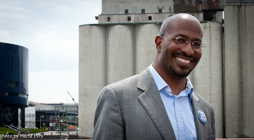 Van Jones smiling