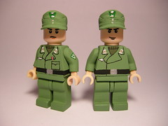 Wehrmacht panzer crew LEGO (MR. Jens) Tags: world two germany war lego crew german ww2 division 20th panzer wehrmacht panzergrenadier