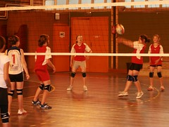 Tess en rception (scribe74) Tags: volley finales besanon tournoi benjamines