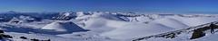 Panorama Lonquimay (Mono Andes) Tags: chile landscape andes invierno skitour esquí volcanoe chilecentral regióndelaaraucanía volcánlonquimay reservanacionalmalalcahuellonalcas hueñe