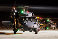 Pave Hawk Pair... (Tony Osborne - Rotorfocus) Tags: night force hawk air united patrick nightshoot helicopter states usaf pave afb sikorsky uh60 2011 h60 hh60g