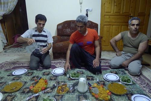 Diner at Ghasems
