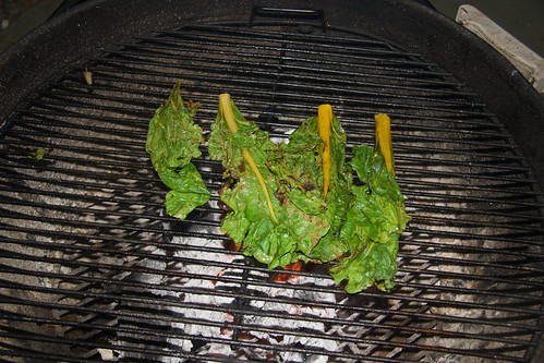 Grilled Chard
