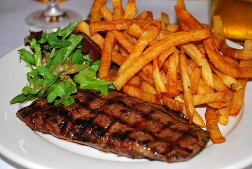Steak , Frites, & Salade