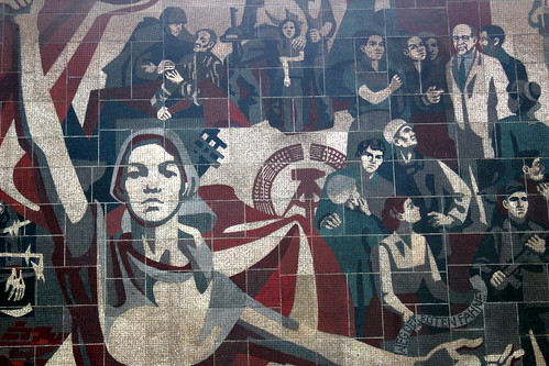 Communist Mural, From FlickrPhotos