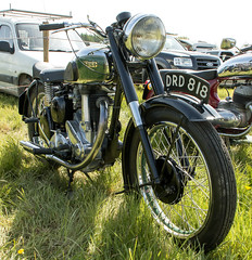LVMS 019 (barryskeates) Tags: auto car truck vintage bedford aerial norton machinery motorbike motorcycle society bsa lambourn lvms lambournvintagemachinerysociety
