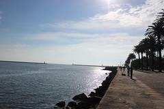 Uferpromenade Richtung Meer