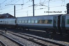 9212 departs Connolly, 17/5/14 (hurricanemk1c) Tags: irish train rail railway trains enterprise railways irishrail 2014 9403 connolly 9206 iarnród 9001 9103 9207 9212 9214 dedietrich éireann iarnródéireann 89604 0935connollybelfastcentral