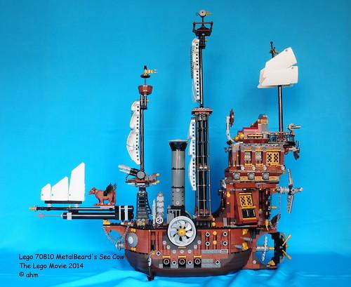 Lego The Lego Movie 70810 Metalbeard S Sea Cow A Photo On Flickriver