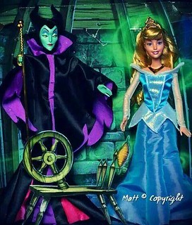 Upcoming Mattel Maleficent and Aurora combo pack!