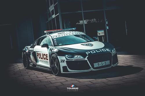 Audi R8 Police