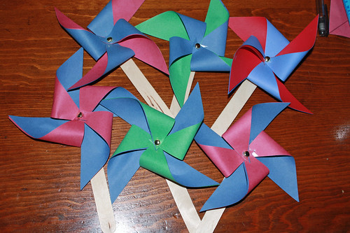 How to Make pinwheels Easily!