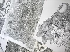 originals-07 (valentinadesign) Tags: original lines animals ink circles details doodles penink originalwork originaldrawings valentinaramos initrcate