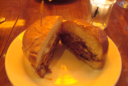The Diablo Burger and Bacon Bleu Burger