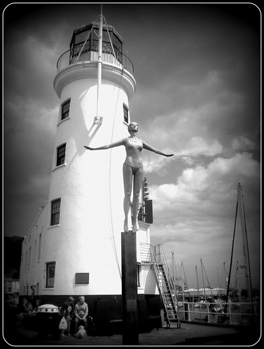 lighthouse statue