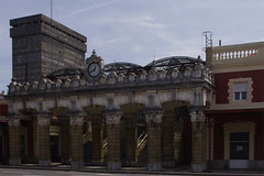 'ATOCHA' TOWER & NORTH TRAIN STATION (maulegon) Tags: del de san torre sebastian estacion donostia norte atocha atotxa