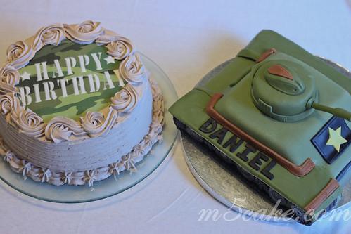 Military Tank Cake - 1