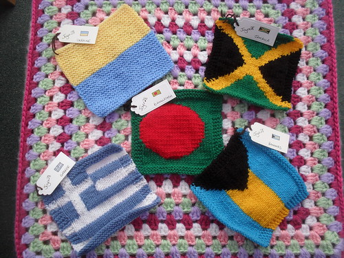 joyce28 (UK) Your 'Olympic' Squares have arrived! Thank You!