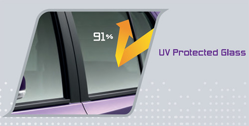 Perodua MyVi 2011 : UV Protected Glass