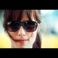 Day Hundred and Sixty (ODPictures Art Studio LTD - Hungary) Tags: portrait sun girl smile face canon eos glasses hungary bokeh budapest 85mm 365 f18 hungarian 500d portré borim szemüveg orbandomonkoshu