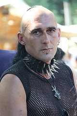 Spikes and Fishnet (fluffy_steve) Tags: festival germany goth wave leipzig treffen gotik wgt 2011