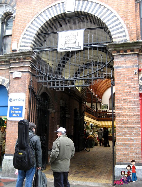 Entering the English Market in Cork
