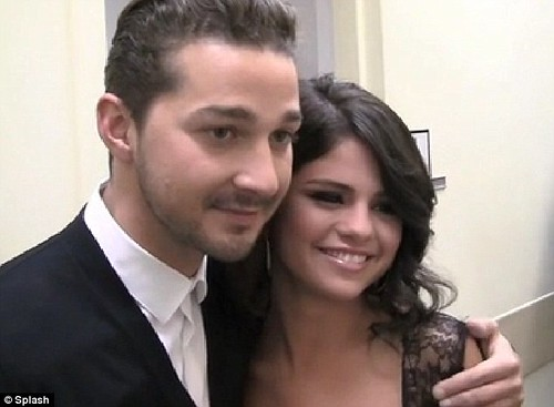 Watch out Bieber! Selena Gomez admits she has a crush on 'handsome' ladies' man Shia LeBeouf  1