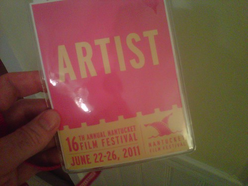 Artist Badge Nantucket Film Festival